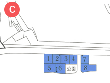 十市浜地 分譲宅地位置図拡大